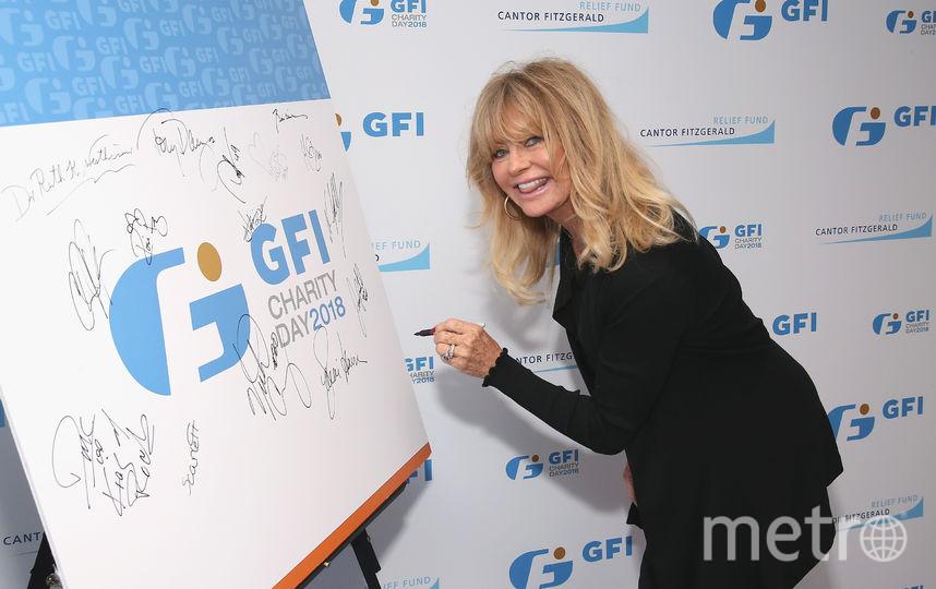 Голди Хоун. Фото Getty