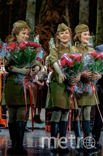 """Китайцы привезли оперу «А зори здесь тихие». Фото Алена Бобрович, """"Metro"""""""