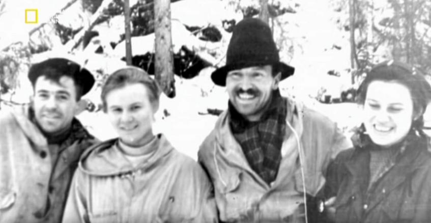 Группа экспедиции под руководством Дятлова.