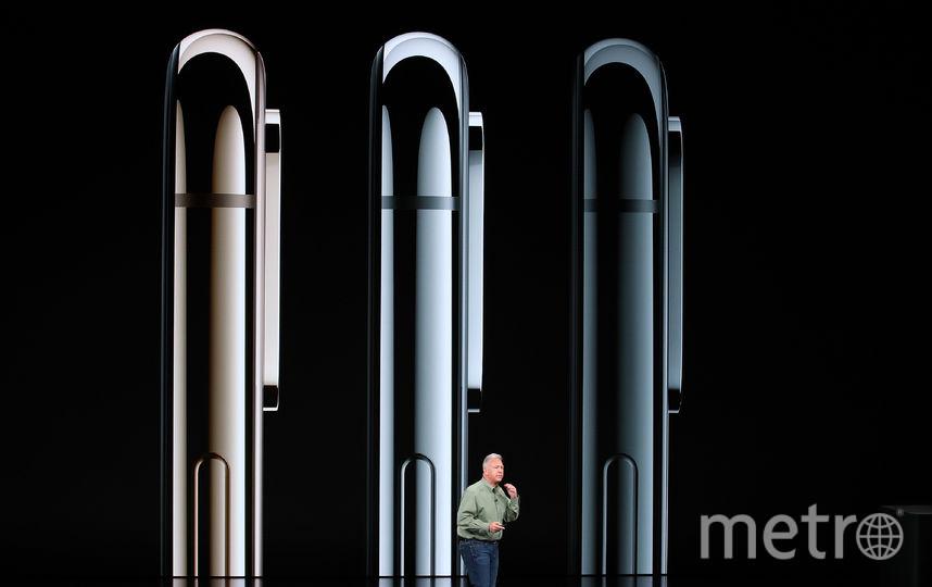 На фото: iPhone XS в трёх доступных цветах: золото, серебро и серый космос. Фото AFP
