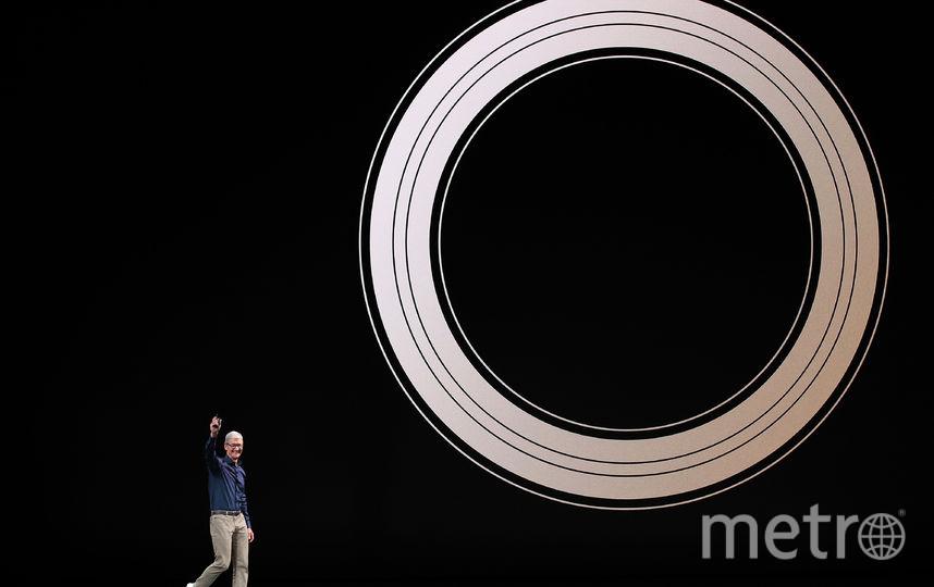 Apple представили новые модели смартфонов: iPhone Xs, iPhone Xs Max и iPhone XR. Фото AFP