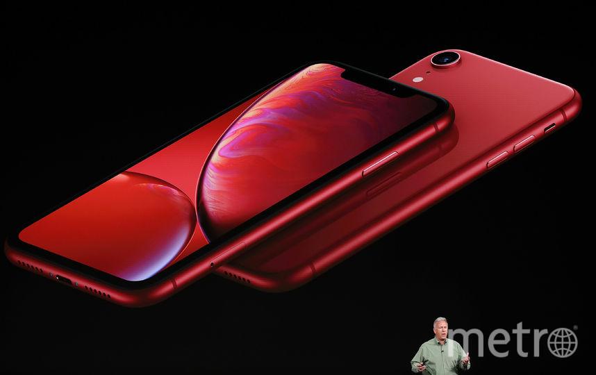 На фото: iPhone XR. Фото AFP