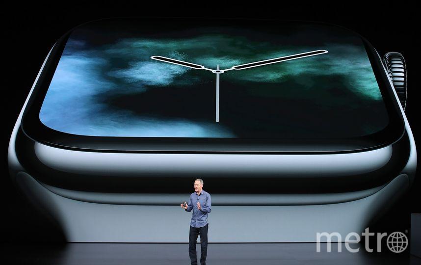 Apple презентовали новое поколение часов. Фото Getty
