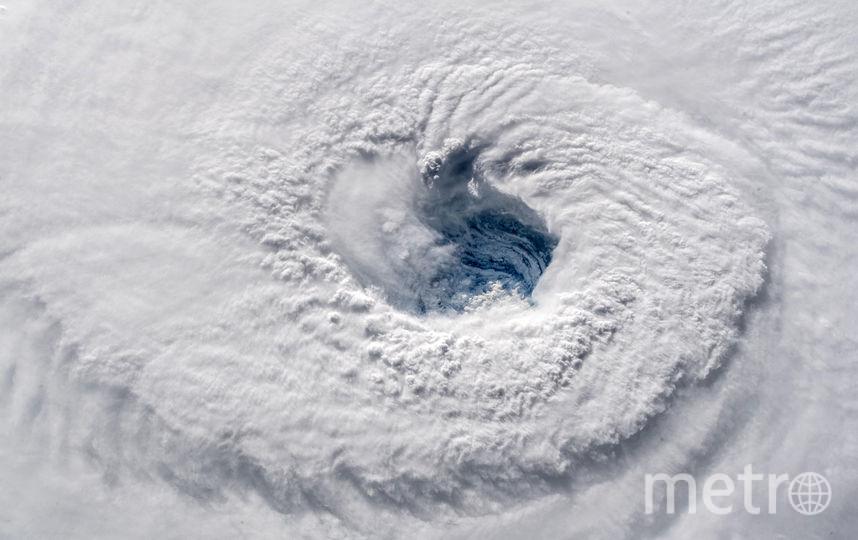 """Так выглядит """"ураган века"""" """"Флоренс"""" из космоса. Фото Getty"""