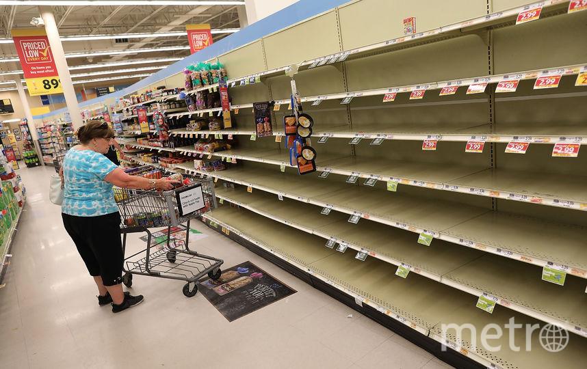 """Как готовятся к удару """"урагана века"""" """"Флоренс"""". Фото Getty"""