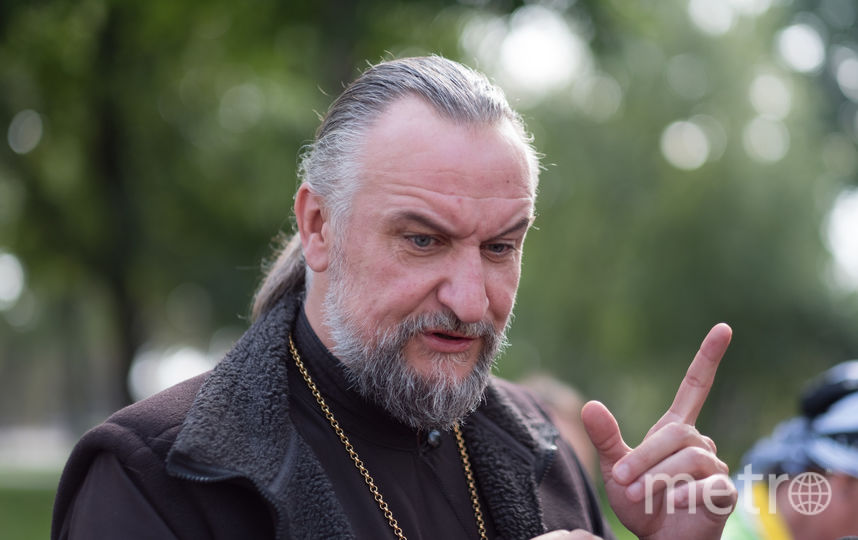 """Игумен Александр. Фото Святослав Акимов, """"Metro"""""""