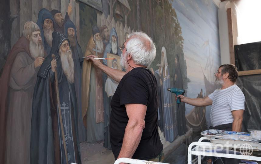 """В монастыре проходят полномасштабные работы по реставрации. Фото Святослав Акимов, """"Metro"""""""