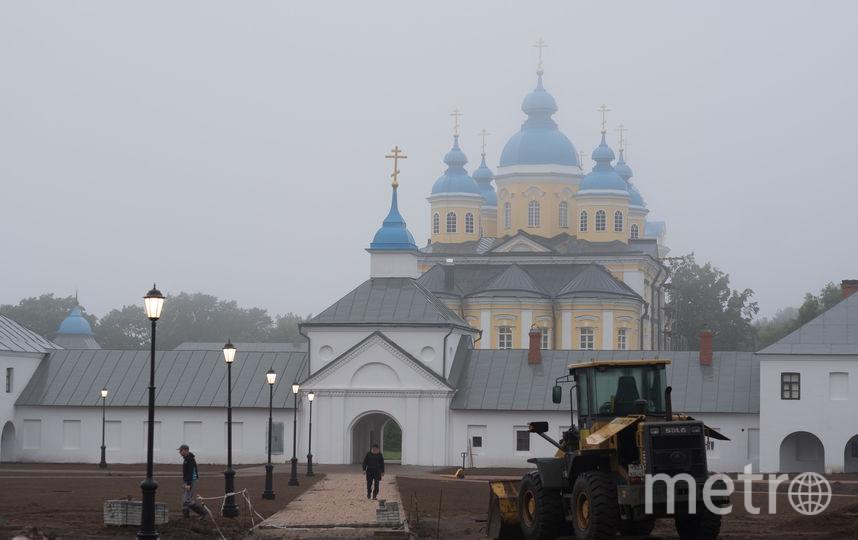 "Остров Коневец. Фото Святослав Акимов, ""Metro"""