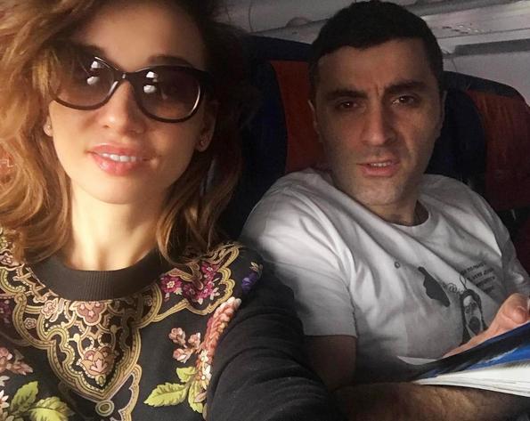 Анфиса Чехова и Гурам Баблишвили. Фото Скриншот Instagram: @achekhova