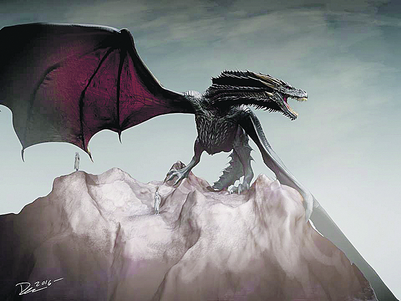 Драконы, созданные Дэном Кэтчером. Фото Предоставлено организаторами