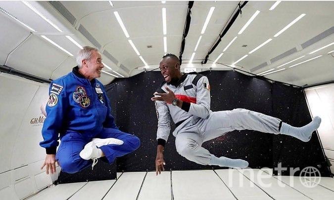 Болт теперь не только самый быстрый на Земле, но и в космосе. Фото instagram.com/usainbolt