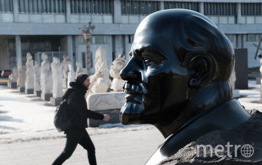 """Один из самых популярных """"героев"""" московских памятников – Ленин. Фото Getty"""