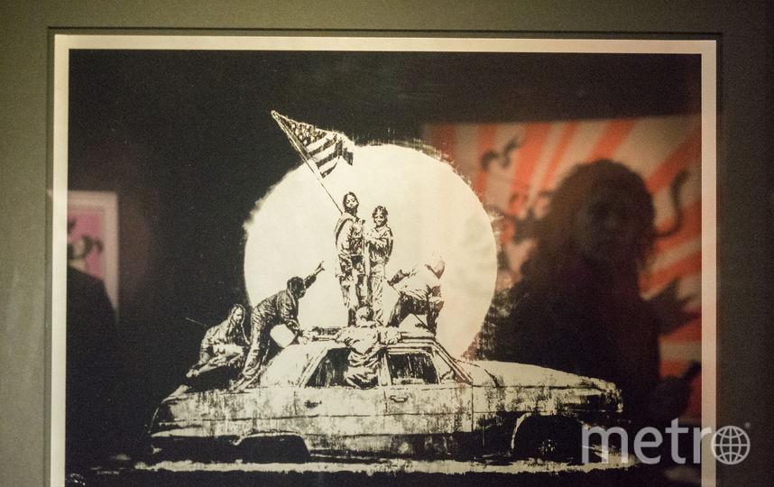 """Работы Бэнкси приехали в Петербург. Фото Святослав Акимов., """"Metro"""""""