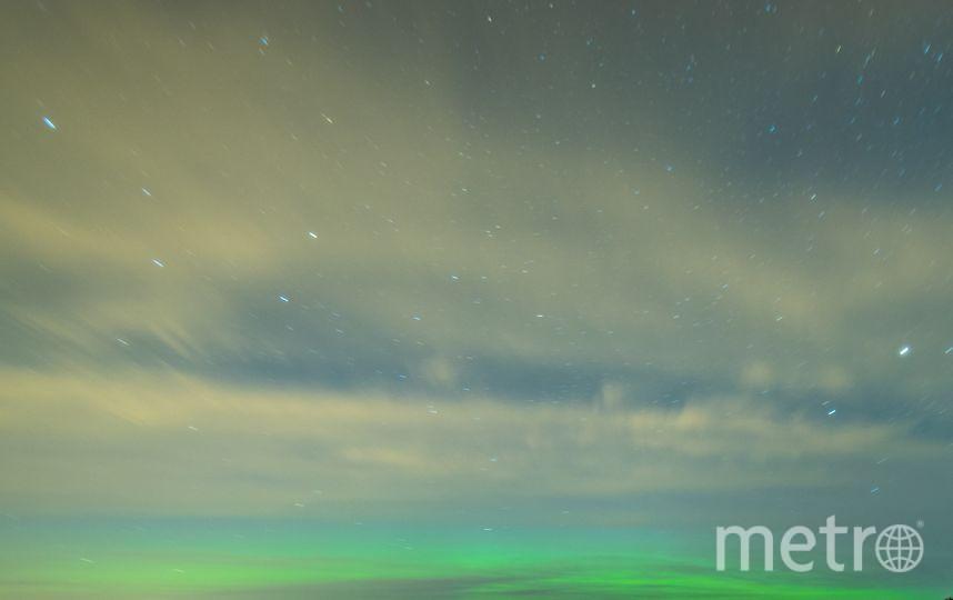Петербургские фотографы открыли сезон северных сияний. Фото предоставлено Геннадием Смыковым.
