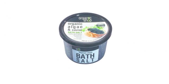 """Organic Shop """"Чёрная Икра"""", Cоль для ванн."""