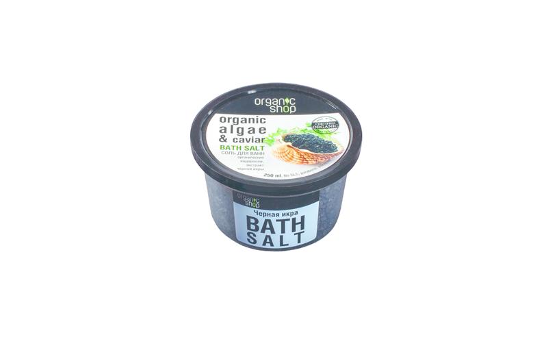 """Organic Shop """"Чёрная Икра"""", Cоль для ванн. Фото предоставлено пресс-службами"""
