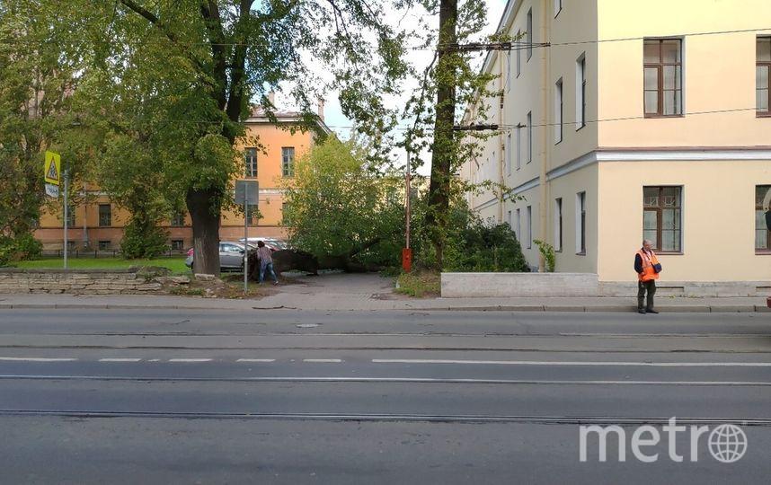 На Расстанной улице, 12 сентября. Фото ДТП и ЧП | Санкт-Петербург | vk.com/spb_today.
