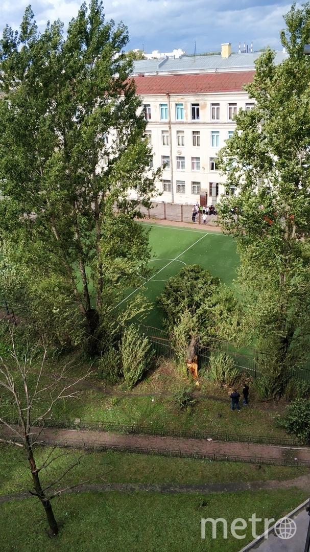 Проспект Стачек, 12 сентября. Фото ДТП и ЧП | Санкт-Петербург | vk.com/spb_today.