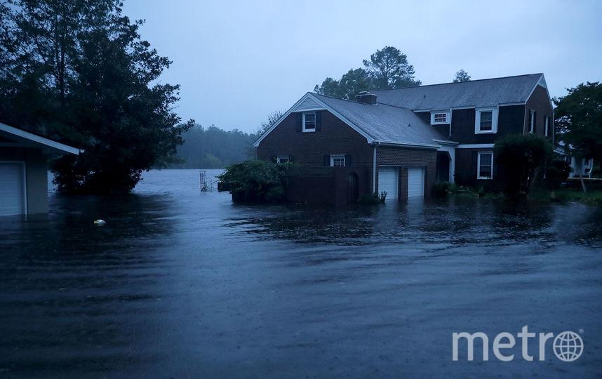 Фото урагана Флоренс в США. Фото Getty