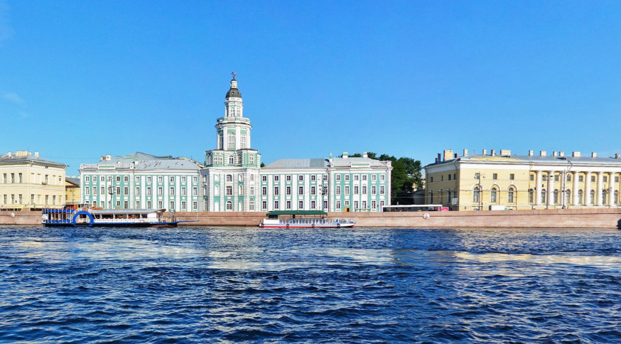 Кунсткамера. Фото скриншот Яндекс.Панорамы.