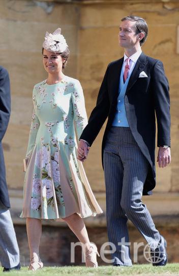 Пиппа Миддлтон с супругом. Фото Getty