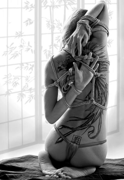Предполагается, что модели в вебкам-студии обладали искусством шибари. Фото Wikipedia