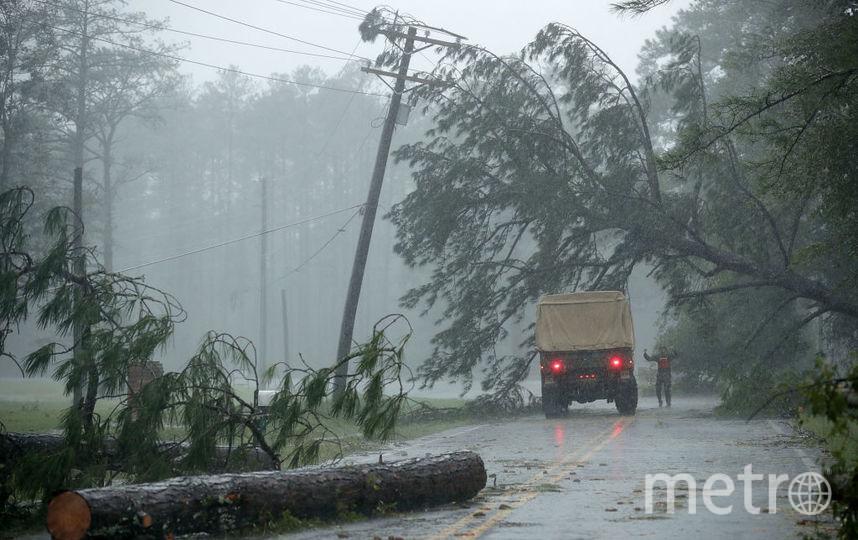Ураган Флоренс, фотоархив. Фото Getty