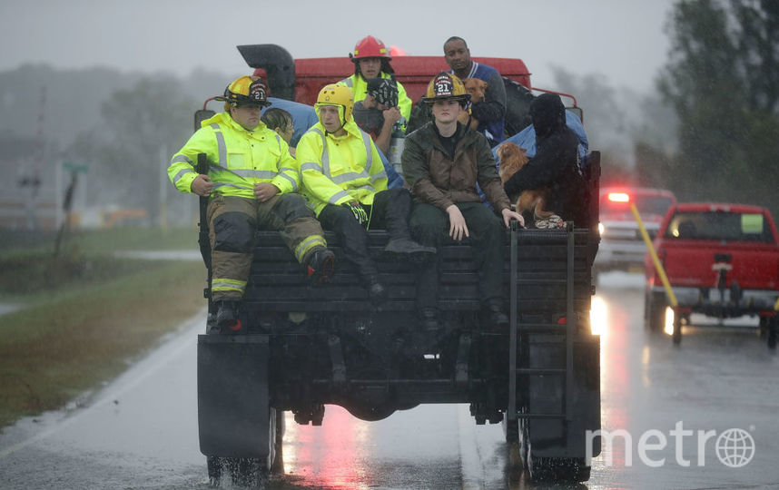 "Ураган ""Флоренс"", фотоархив. Фото Getty"