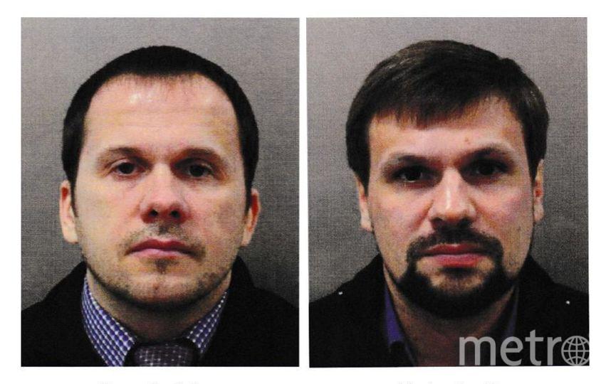 Подозреваемые в отравлении Скрипалей. Фото Getty