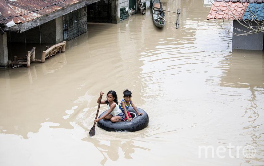 В Китае бушует страшный тайфун. Фото AFP