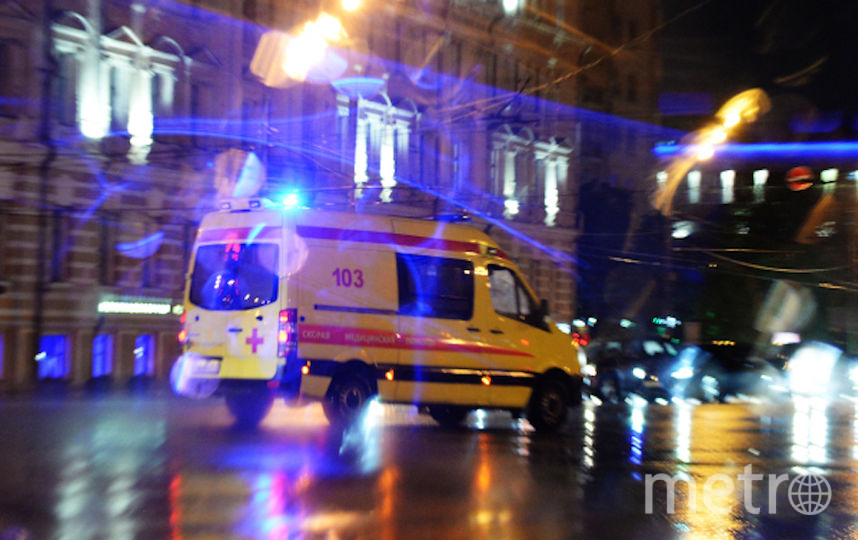 На Кутузовском проспекте в ДТП пострадали четыре человека. Фото РИА Новости