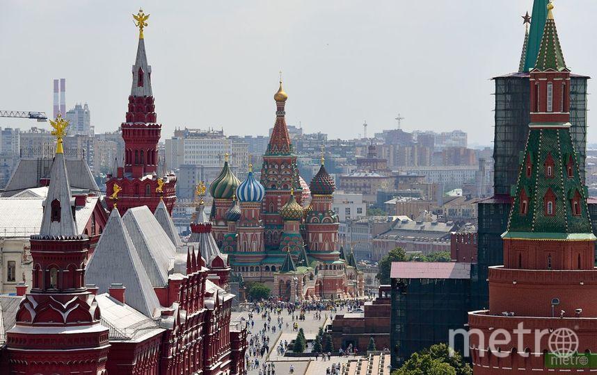 До 25 градусов ожидается в Москве на этой неделе. Фото Василий Кузьмичёнок