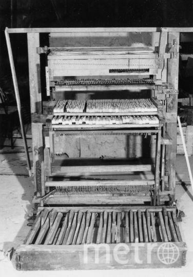 Так выглядел орган в начале 90-х годов. Фото предоставлено музеем музыки