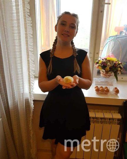 Ирина с той самой упаковкой яиц. Фото из личного архива героини