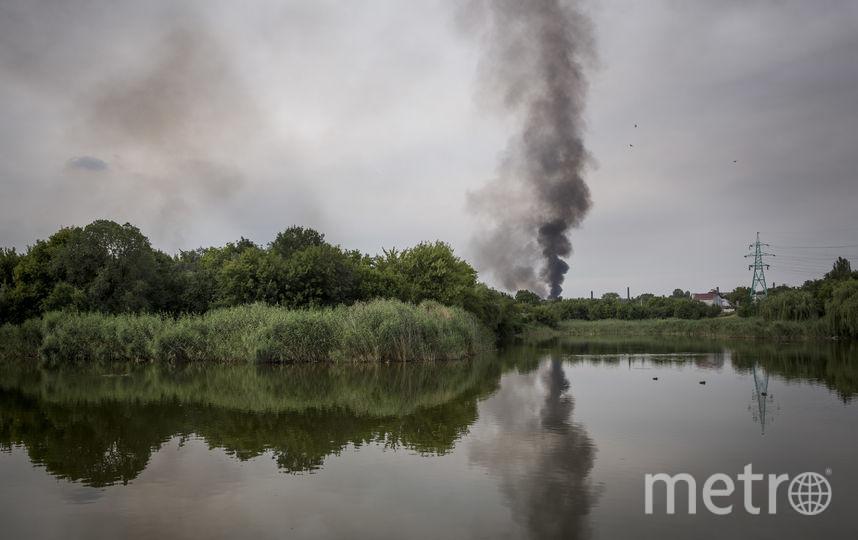 "Крушение малайзийского ""Боинга"" под Донбассом. Фото Getty"