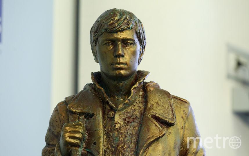 Макет памятника Сергею Бодрову-младшему. Фото Василий Кузьмичёнок