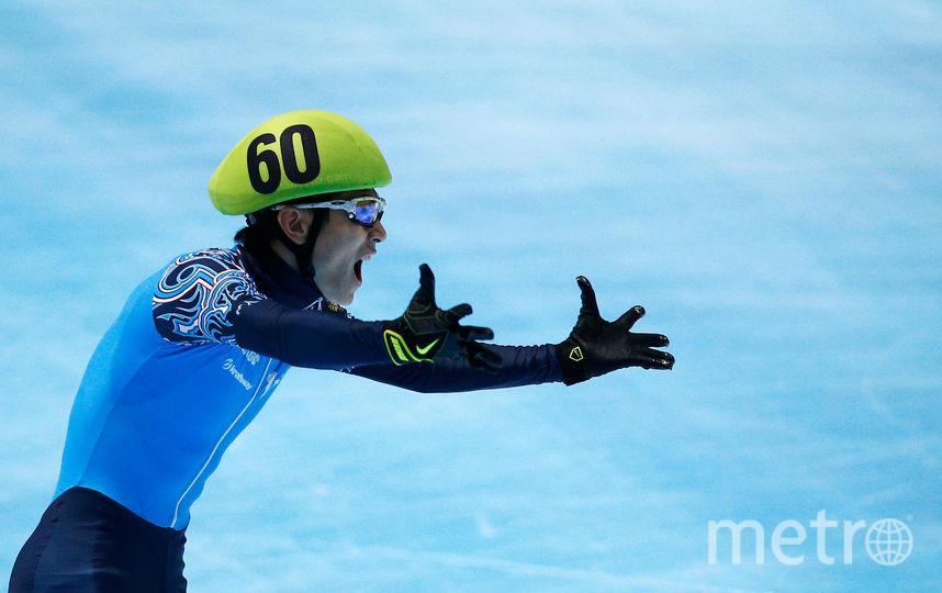 Шестикратный олимпийский чемпион в шорт-треке Виктор Ан. Фото Getty