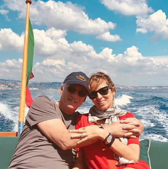 Алехандра Сильва и Ричард Гир. Фото www.instagram.com/alejandragere
