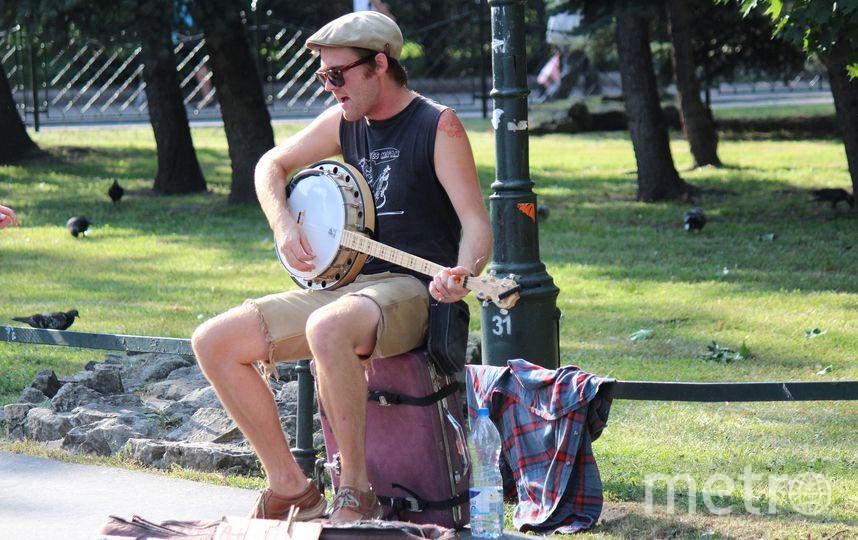 В Петербурге хотят запретить музыкантам выступать на улице.