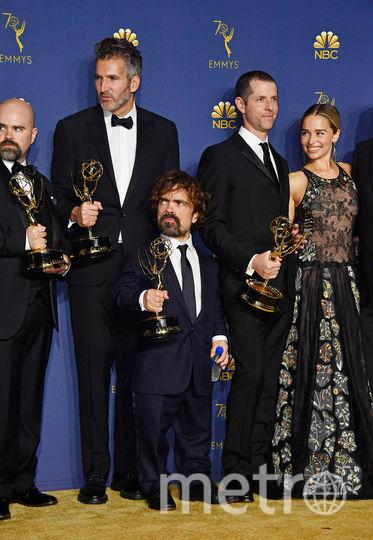 """Лучшим драматическим сериалом назвали """"Игру престолов"""". Фото AFP"""