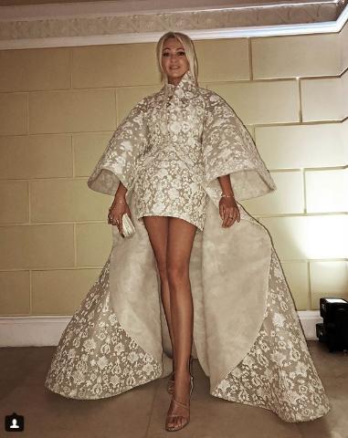 Яна Рудковская на вечеринке в честь 10-летия Tatler. Фото instagram/rudkovskayaofficial