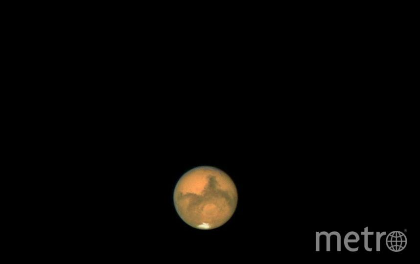 Планета Марс. Фото Getty