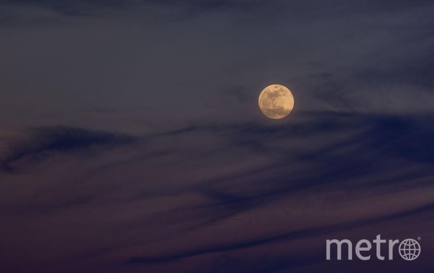 Спутник Земли Луна. Фото Getty