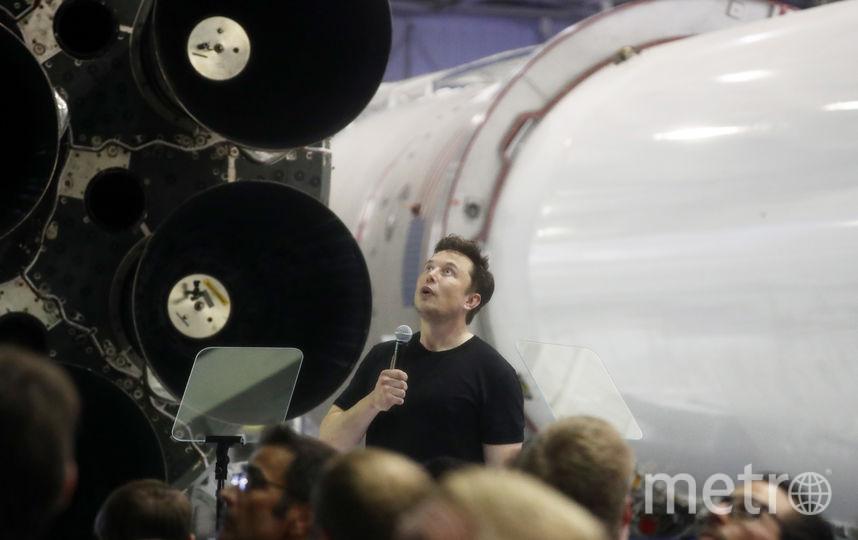 Илон Маск на мероприятии SpaceX. Фото Getty