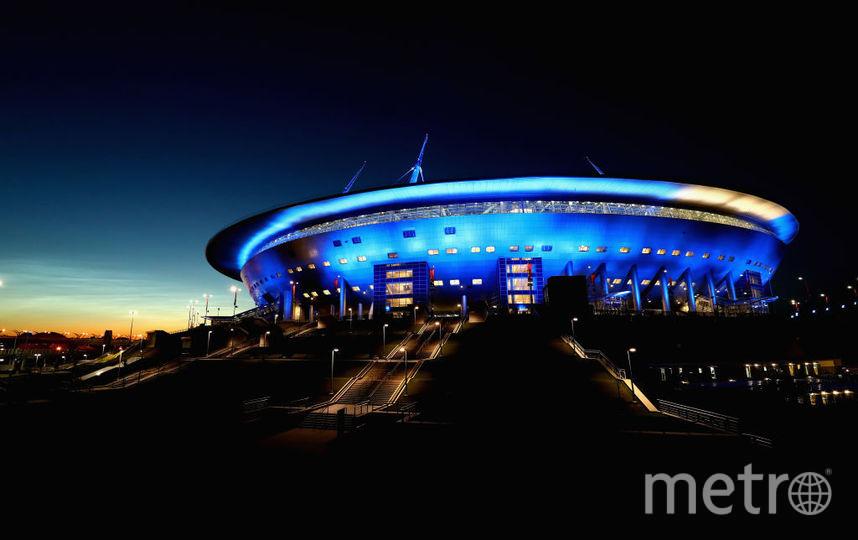 """Болельщики признали стадион """"Санкт-Петербург"""" лучшим в России. Фото Getty"""