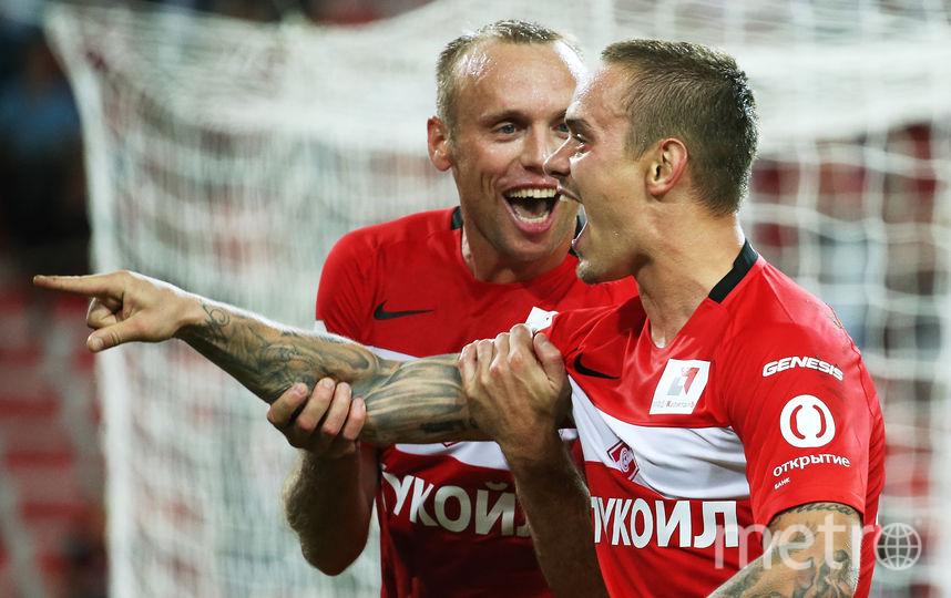 Денис Глушаков и Андрей Ещенко. Фото Getty