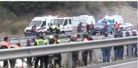 Появились подробности и видео с места ДТП с автобусом в Турции: погибли 7 человек
