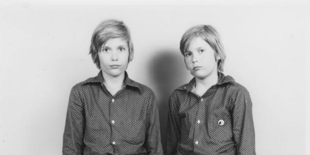 Братья-близнецы Дмитрий (слева) и Владимир Киншты.