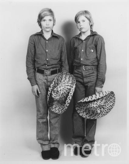 Братья-близнецы Дмитрий (слева) и Владимир Киншты. Фото Nathan Farb.