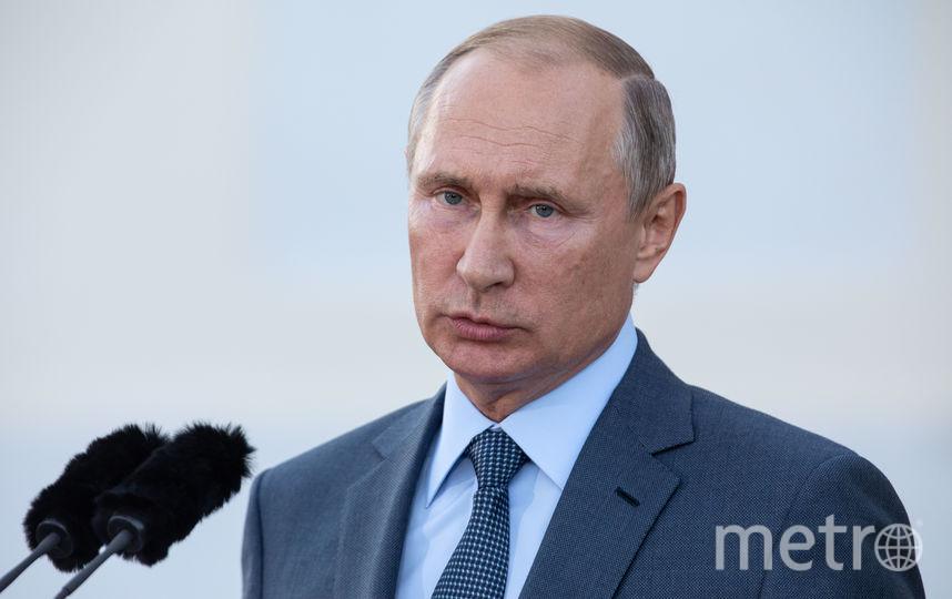 Путин принёс соболезнования родным погибших и назвал крушение самолёта цепью трагических обстоятельств. Фото Getty